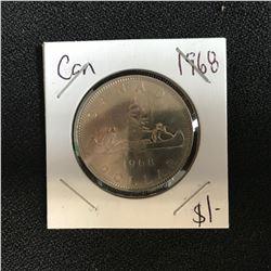 1968 CANADA SILVER DOLLAR