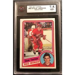 1984-85 TOPPS #49 STEVE YZERMAN Rookie Card (7.5 NM+)
