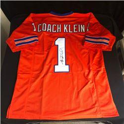 """Henry Winkler Signed """"Coach Klein"""" Jersey (JSA COA)"""