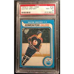1979-80 O-Pee-Chee #18 Wayne Gretzky Rookie Card (NM-MT 8)