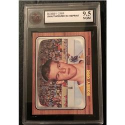 BOBBY ORR UNAUTHORIZED RC REPRINT (9.5 NGM)