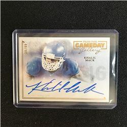 Khalil Mack 2014 Press Pass Gameday Gallery Auto Autograph 38/99 Chicago Bears