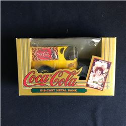 COCA COLA DIE-CAST METAL BANK