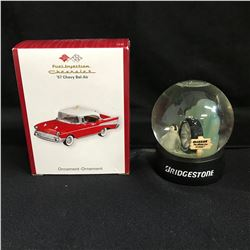 CHEVROLET/ BRIDGESTONE ORNAMENT LOT