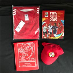 FIFA WOMEN'S WORLD CUP CANADA 2015 SOCCER COLLECTIBLES LOT
