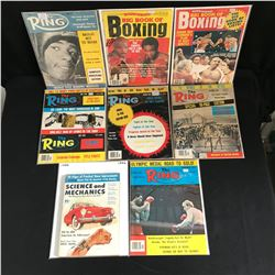 VINTAGE BOXING MAGAZINES LOT