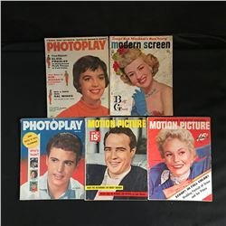 VINTAGE PHOTOPLAY/ MOTION PICTURE MAGAZINE LOT