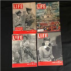 VINTAGE LIFE MAGAZINE LOT (1940-70s)