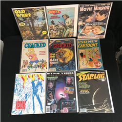 MAGAZINE LOT (VARIOUS TITLES)