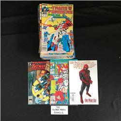 SUPER HERO COMIC BOOK LOT (70 BOOKS)