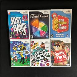 Wii VIDEO GAME LOT