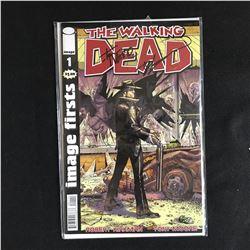 THE WALKING DEAD #1 (IMAGE COMICS) signed by ROBERT KIRKMAN & TONY MOORE
