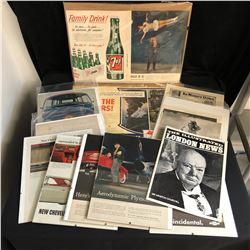 COLLECTIBLE ADVERTISING LOT