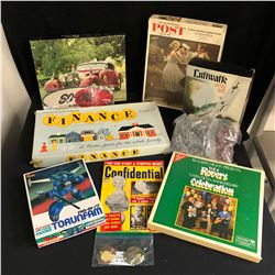 BOARD GAMES/ PUZZLES/ GAMES LOT