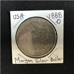 1888 USA MORGAN SILVER DOLLAR (NEW ORLEANS MINTED)