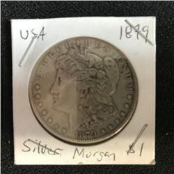 1879 USA MORGAN SILVER DOLLAR