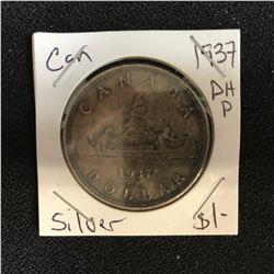 1937 CANADA SILVER DOLLAR