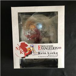 NEON GENESIS EVANGELION 1/8 SCALE PRE-PAINTED FIGURES REIA & ASUKA