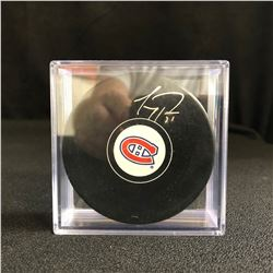 CAREY PRICE SIGNED MONTREAL CANADIENS HOCKEY PUCK