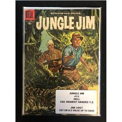 JUNGLE JIM #11 (DELL COMICS) 1957
