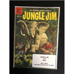 JUNGLE JIM #18 (DELL COMICS) 1957
