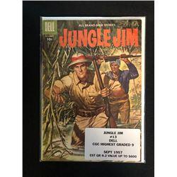 JUNGLE JIM #13 (DELL COMICS) 1957