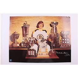 Large Bobby Orr Signed Bruins 18 X 24 Photo (Orr COA)