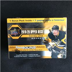 2019-20 UPPER DECK SERIES ONE HOCKEY BLASTER BOX