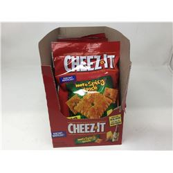 Cheez It Snacks- Hot & Spicy