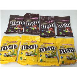 Assorted M&M's (8 x 120g)