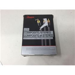Rocketfish 12ft Composite/Stereo Video, Audio Cable