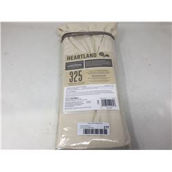 Heartland 325 Thread Count Percal Weave Full Fitted Sheet