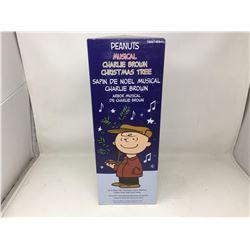 Peanuts Muscial Charlie Brown Christmas Tree
