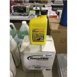 Case of RacePro SAE 5W30 Premium Motor Oil (6 x 946mL)