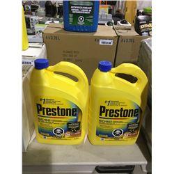 Prestone Premixed Antifreeze (3.78L) Lot of 2