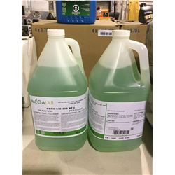 Mega Lab All-Purpose Surface Disinfectant (4L) Lot of 2