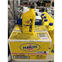 Case of Pennzoil SAE 5W-30 Motor Oil (12 x 946mL)