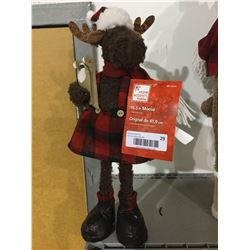 """Home Accents Holiday 16.5"""" Decorative Moose"""