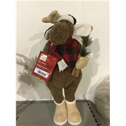 """Home Accents Holiday 24"""" Decorative Moose"""