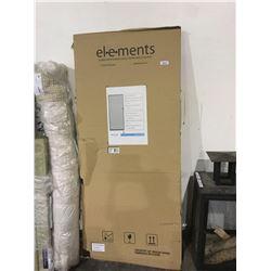 """Elements Adjustable Sliding Patio Screen Door - Brown - (77 1/8"""" - 80 2/5"""")"""