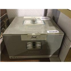 """Lucid Lighting 2-Light Flushmount (11"""" x 5.5"""")"""