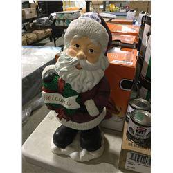 Holiday Santa Welcome Display