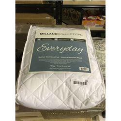 Millano Collection King Size Quilted Mattress Pad