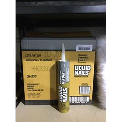 Case of Liquid Nails Mirror Adhesive (24 x 296mL)