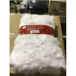 "Home Accents Holiday 60"" Faux Fur Tree Skirt"