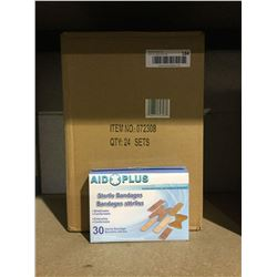 Case of 24 Aid Plus Sterile Bandages