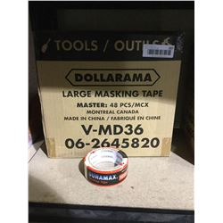 Case of 48 DuramaxLarge Masking Tape Rolls