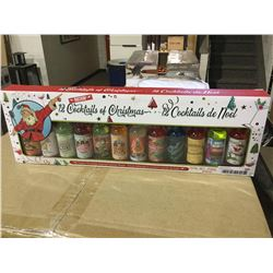 Rockin' 12 Cocktails of Christmas Mixers (12 x 70mL)