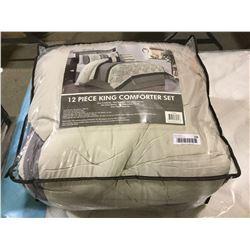 Carter 12-Piece King Size Comforter Set