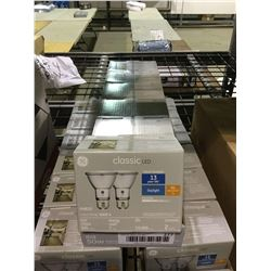 Case of 6 GE Classic LED 5000k 2-Pack Floodlights